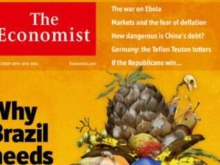 Revista de economia apresentou reportagem favorável ao candidato tucano