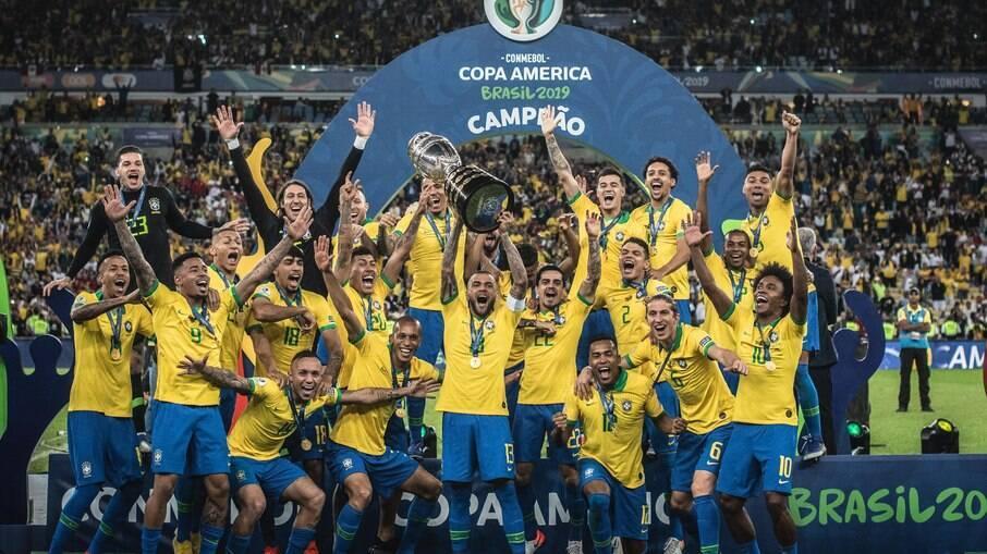 Seleção brasileira foi campeã da Copa América 2019