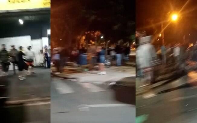 Vídeos mostram aglomerações em bar e praça de Campinas durante o fim de semana