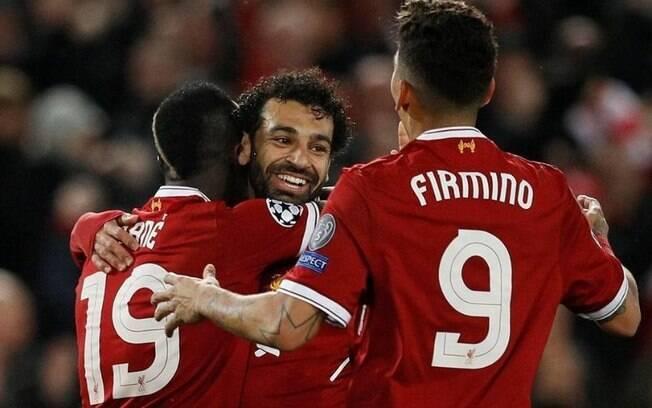 Mané%2C Salah e Firmino%2C o trio poderoso do Liverpool