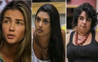 """BBB15"": Quem deve ser eliminada, Aline, Amanda ou Mariza?"