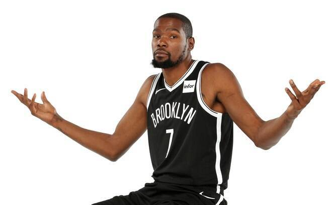 Kevin Durant%2C astro do Brooklin Nets