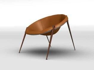 Nova versão da cadeira New Super Nova, de Pedro Franco, produzida pela Fasem
