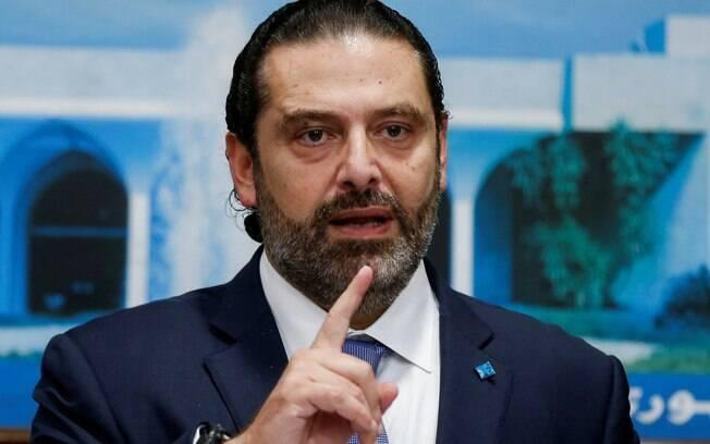 Primeiro-ministro do Líbano, Saad Hariri renunciou ao cargo após duas semanas de protestos