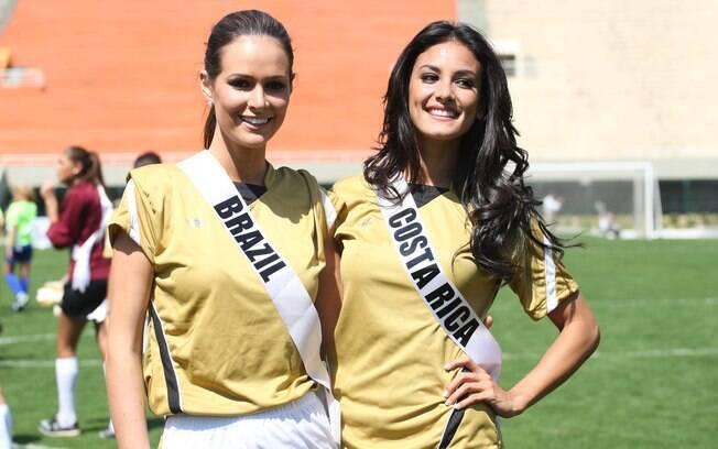 A brasileira Priscila Machado e a costa-riquenha Johanna Solano