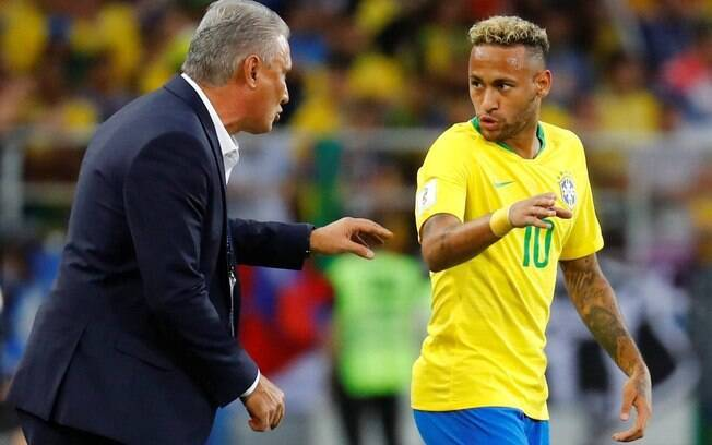 Comissão técnica da Seleção já definiu os titulares na Copa América.