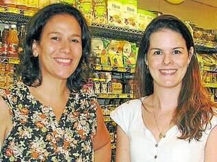 Cecília Cury e Mariana Claudino são do movimento Põe no Rótulo
