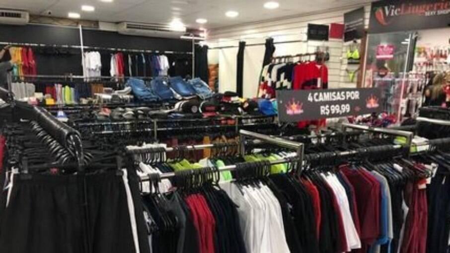 Galpão com produtos falsificados foi fechado