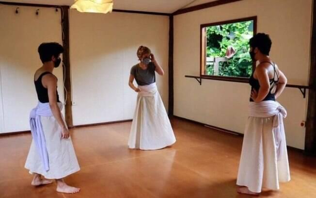 Projetos on-line exibem vídeos de dança em Hortolândia