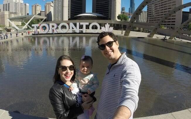 Em seu blog de dicas de viagens, a carioca fala da viagem em família para Toronto, no Canadá
