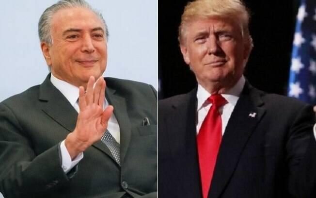 Temer e Trump concordaram em lançar uma agenda para crescimento, diz Planalto