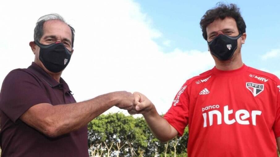 Muricy Ramalho participou de reunião que manteve Fernando Diniz no cargo de treinador do São Paulo