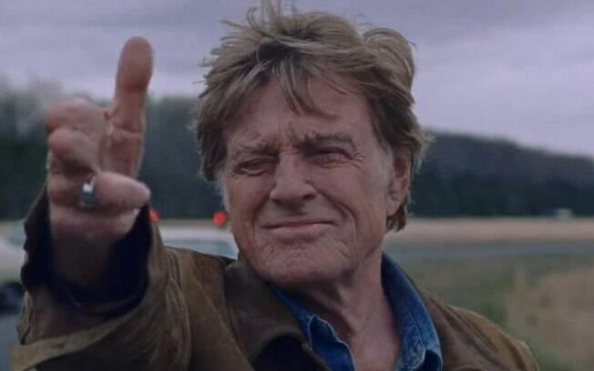 Robert Redford em cena de