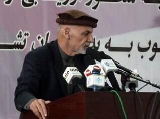 Ashraf Ghani afirma em discurso que ataque não foi de autoria do Taleban, neste sábado