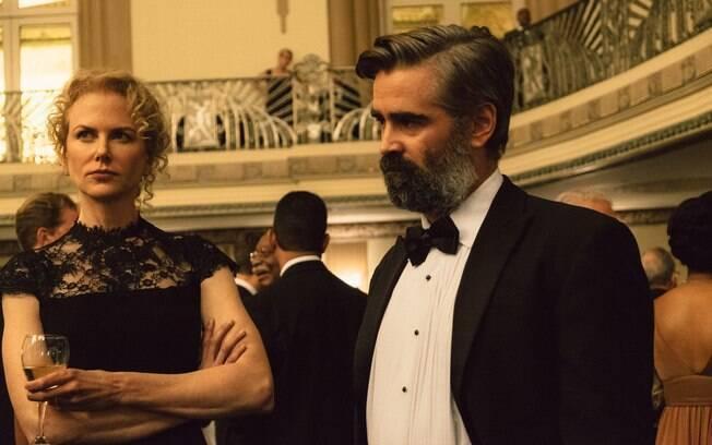 Nicole Kidman e Colin Farrell em cena de O Sacrifio do Cervo Sagrado