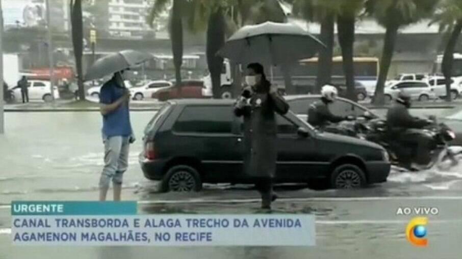 Repórter da Record TV