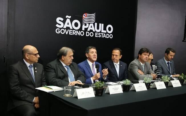 coletiva de imprensa João Doria