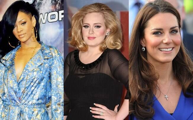 Rihanna, Adele e Kate Middleton estão na lista das 100 mais influentes do mundo