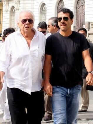 Marcos Palmeira e o pai, o cineasta Zelito Viana