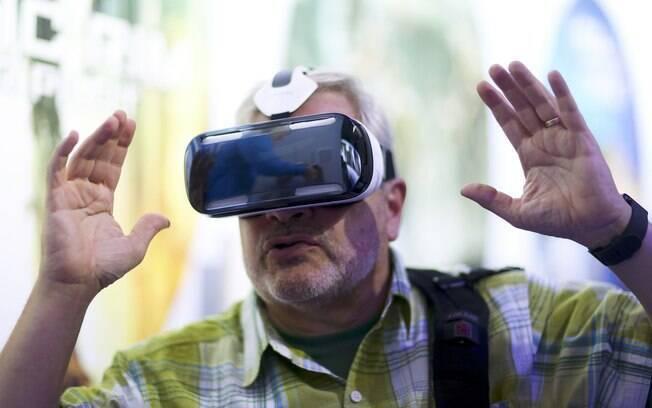 20d9a2f0b728e IFA 2014  Samsung apresenta Gear VR, óculos de realidade virtual ...