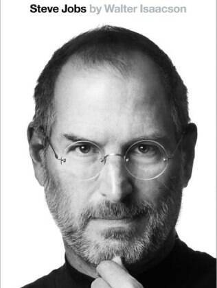 Capa da biogradia de Steve Jobs