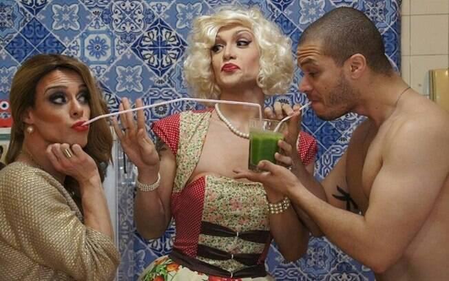 Guilherme define a drag queen como uma cozinheira politicamente incorreta