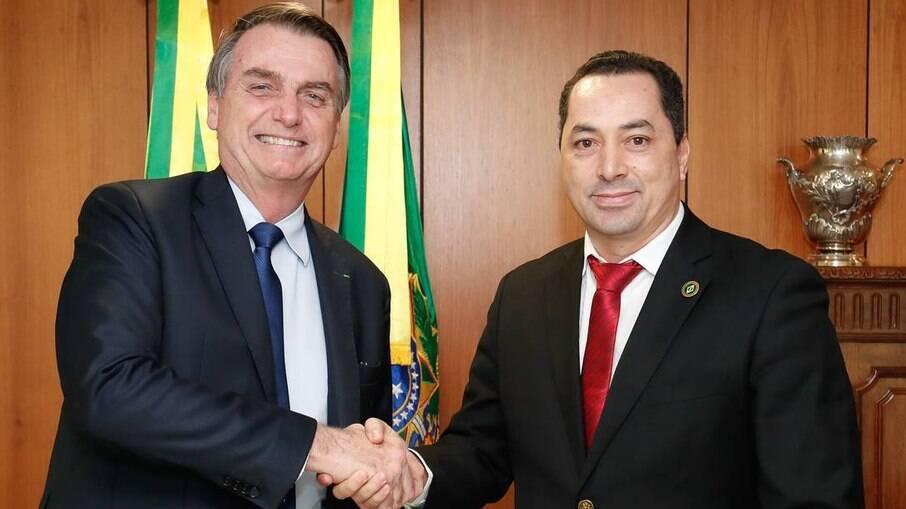 O empresário Uugton Batista da Silva está internado com Covid-19