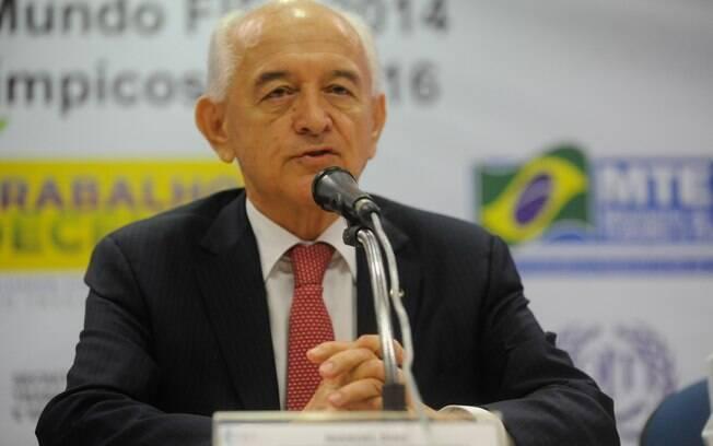 Manoel Dias, continua no Ministério do Trabalho