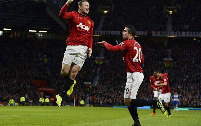 Wayne Rooney recebe 13,8 milhões de euros por  ano no Manchester United