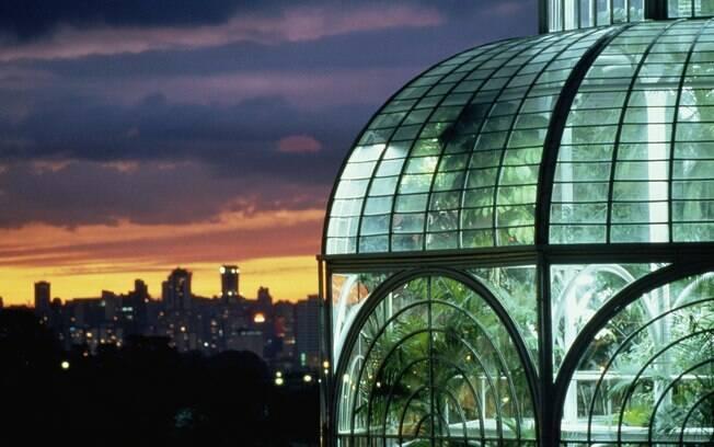 Aproveite a viagem a Curitiba para conhecer os jardins da cidade
