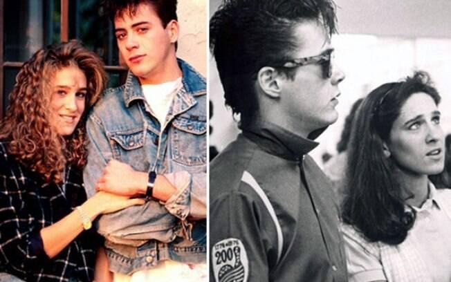 Sarah Jessica Parker e Robert Downey Jr se conheceram no filme