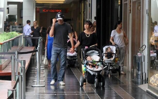 Daniele Suzuki: família feliz