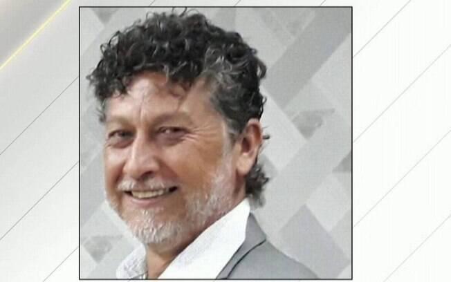 O jornalista Léo Veras, assassinado na fronteira do Mato Grosso do Sul com o Paraguai