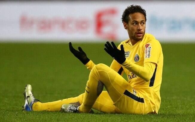 Atacante Neymar, do PSG, é um dos desejos da torcida do Real Madrid para a próxima temporada