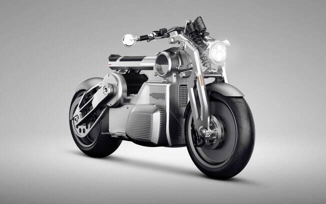 Curtiss Zeus: novo protótipo estuda motocicleta retrô com tecnologia elétrica que será produzido em série em 2020