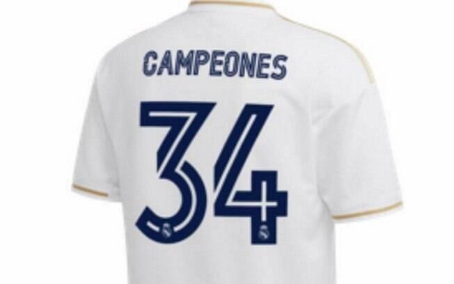 Camisa do Real do título