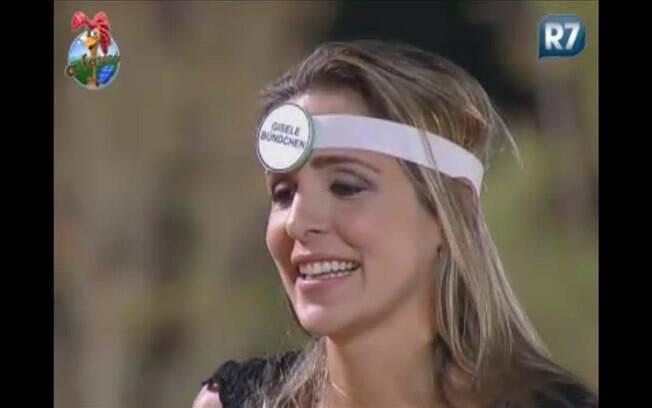 Joana Machado tem que descobrir que é a Gisele Bündchen