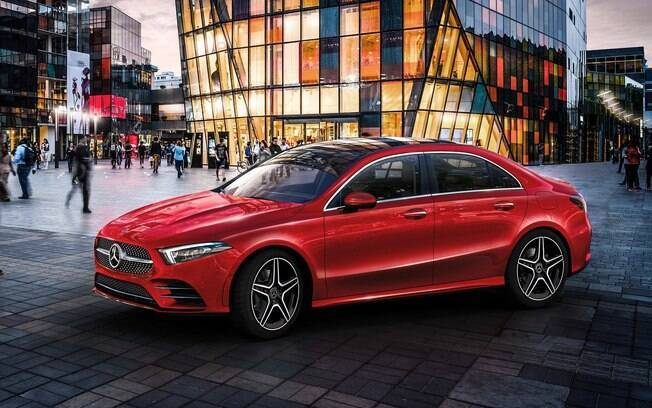 Mercedes Classe A:  sedã começa a ser vendido na China, no segundo semestre, mas chegará a outros mercados en seguida