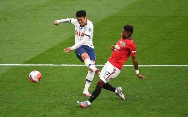 Tottenham e Manchester United empataram em 1 a 1