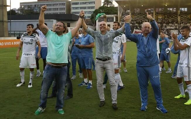 O Palmeiras anunciou nesta semana a renovação com Alexandre Mattos e Cícero Souza, além da contratação em definitivo do lateral Mayke