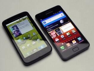 Motorola Atrix e Samsung Galaxy S II