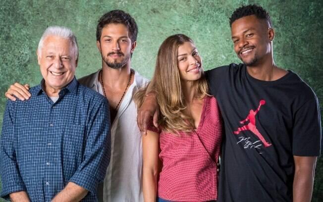 Personagem de Grazi ficará amiga de Antonio Fagundes. No amor, ela será disputada por Rômulo Estrela e David Júnior