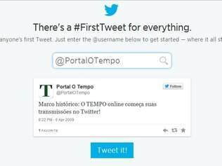 Portal O Tempo entrou no Twitter em 2009