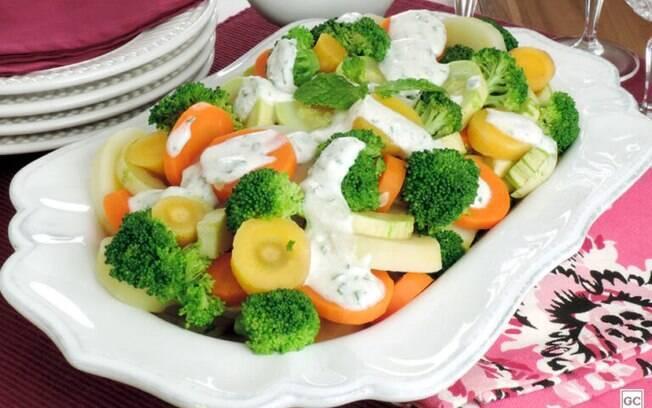 Saladas com molho: sete opções incríveis para provar a aprovar