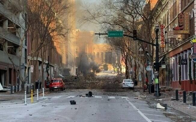 Explosão em Nashville
