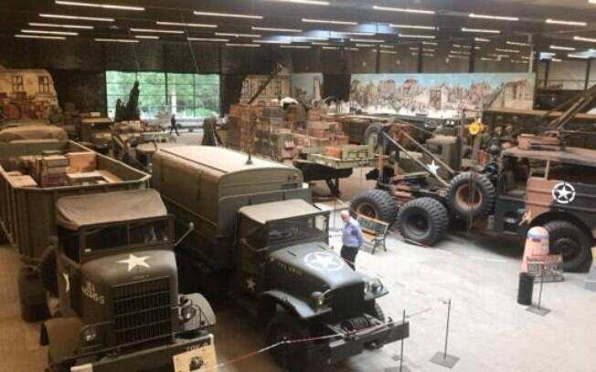 Ladrões roubam uniformes e armas nazistas de museus holandeses