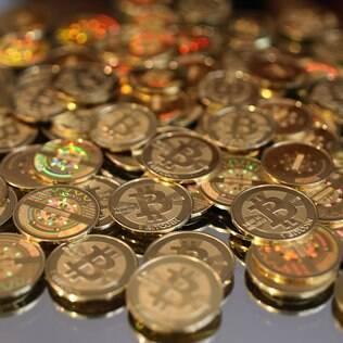 Representação física do Bitcoin