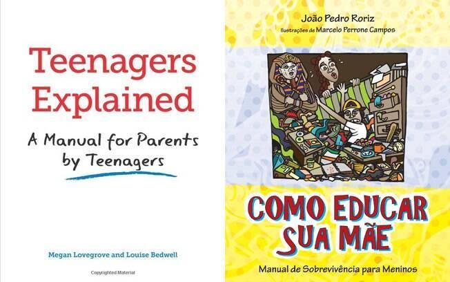 Livros ajudam pais a compreender melhor o dia a dia de seus filhos adolescentes, sob outra perspectiva