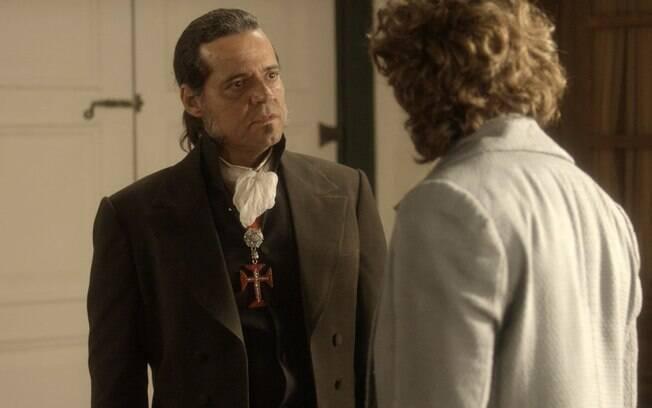 Joaquim e Bonifácio armam um plano para resgatar Anna