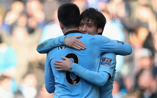 Manchester City de David Silva goleou o  Newcastle por 4 a 0
